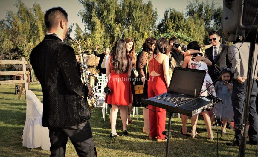 Amenización en bodas santiago