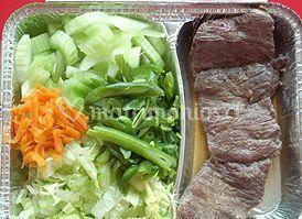 Churrasco con ensalada