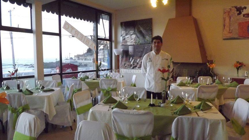 Chef Misael Muñoz