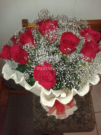 Bouquett de rosas