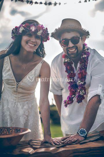 Sonrisas en Rapa Nui