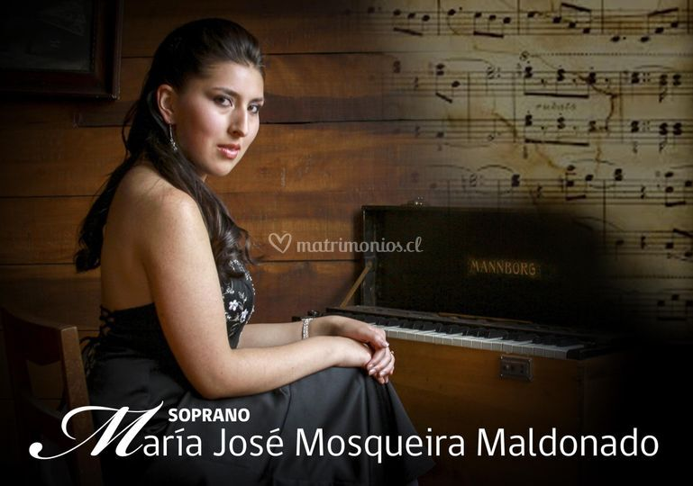 Nuestra imagen publicitaria de Soprano María José Mosqueira