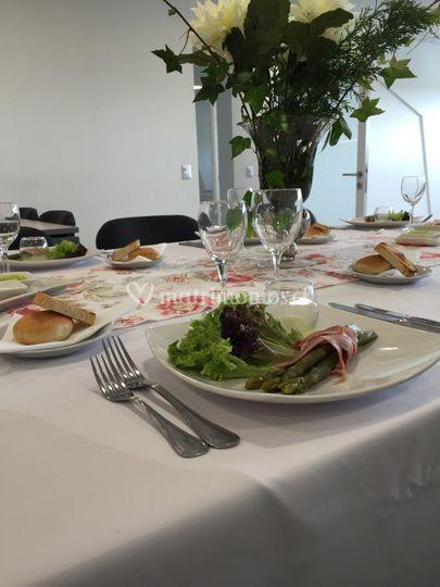 Almuerzo empresa