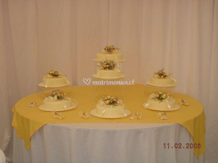 Montaje de tortas