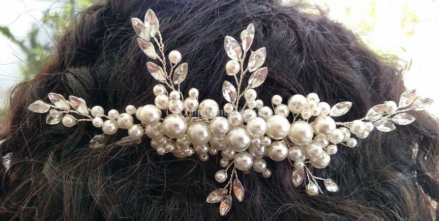 Peine de perlas
