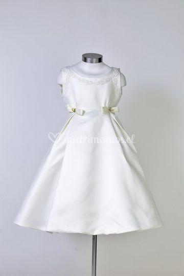 Vestidos pajes blanco e ivory