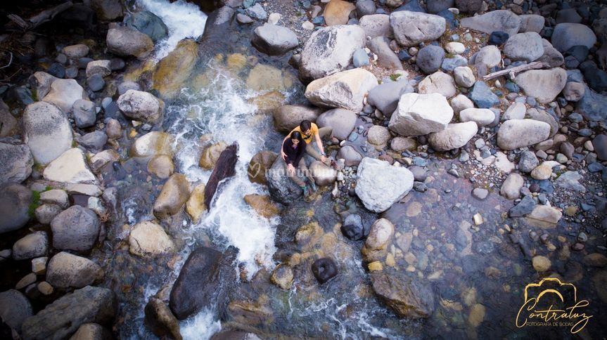 Drone río