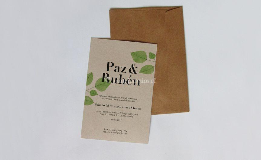 Hojas 3, papel ecológico