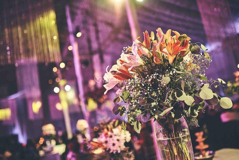 Flores buffet