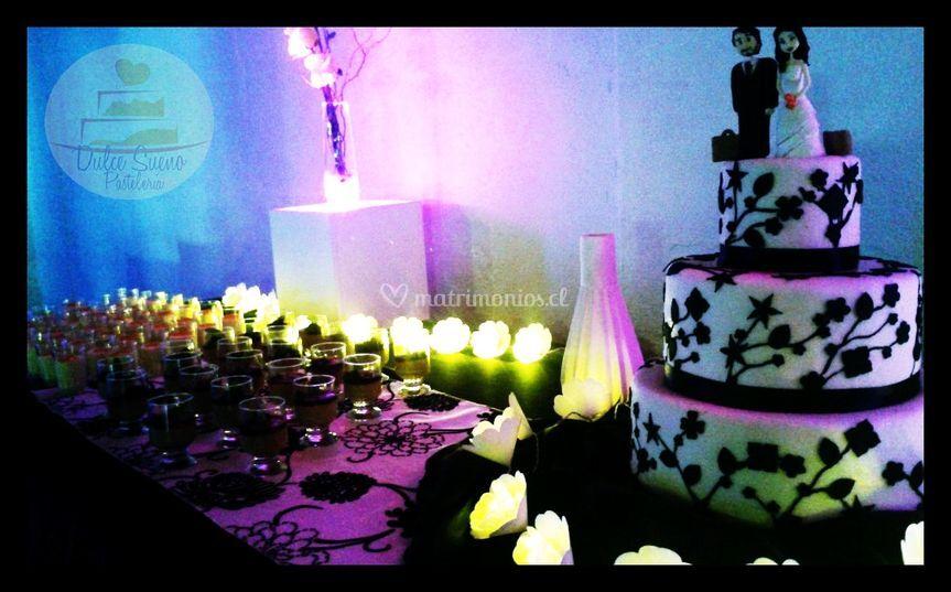 Torta para 100 personas