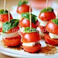 Brochetas tomate cherry