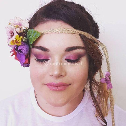 Maquillaje de novia pro