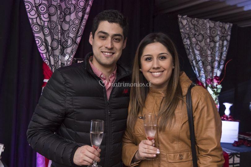Novios Rodrigo y Camila