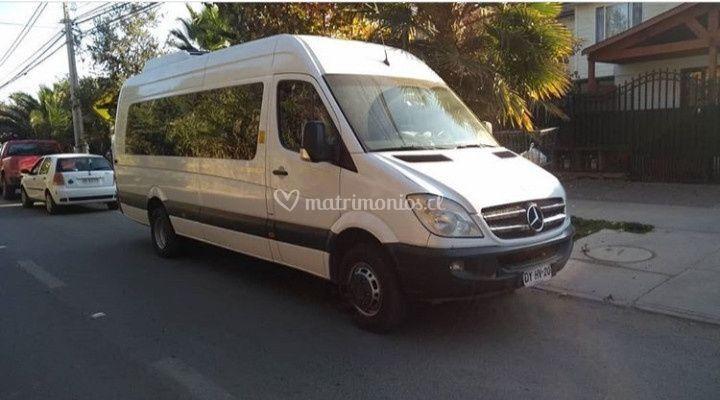 Mercedes benz 19 pasajeros
