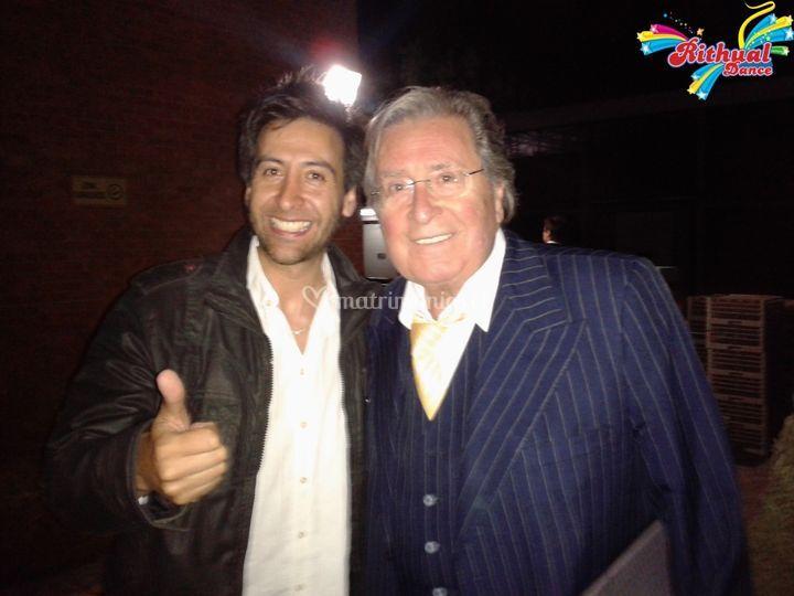 Con Don Eduardo Rabani