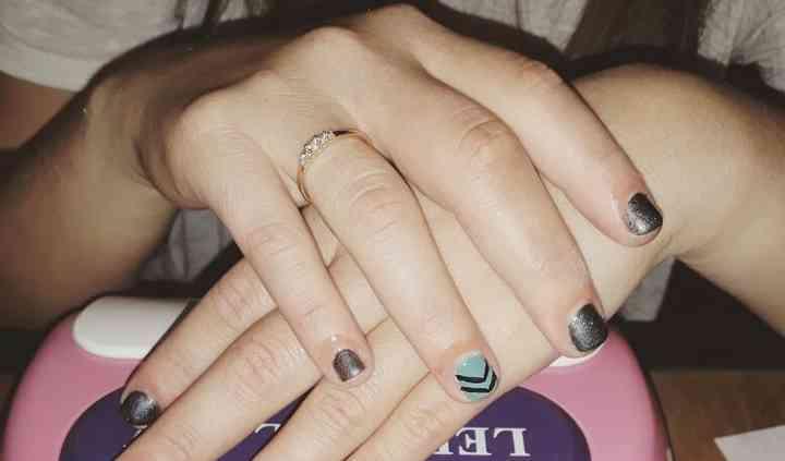 Las uñas pequeñas también