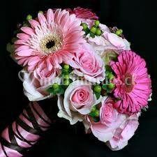 Ramo novia rosas y gerberas