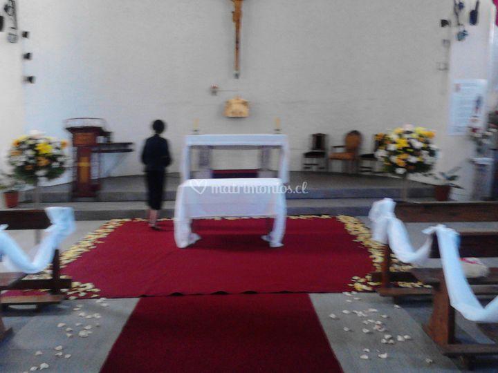 Decoración Iglesia 1