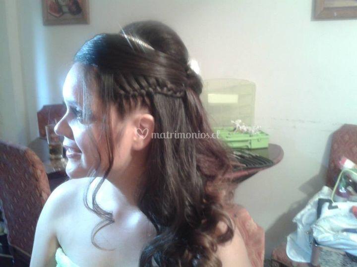 Ingrid Bolbarán Hairstyle