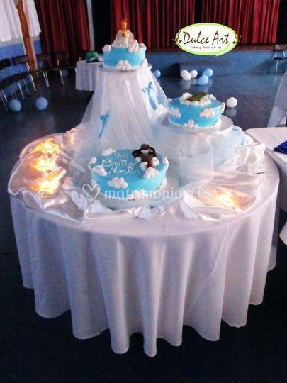 Torta de bautizo temática