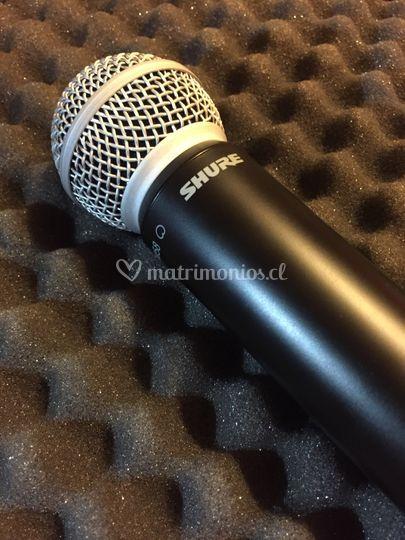 Microfonía Shure Inalámbrica