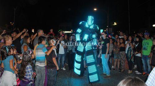 Robots 2.5 metros altura