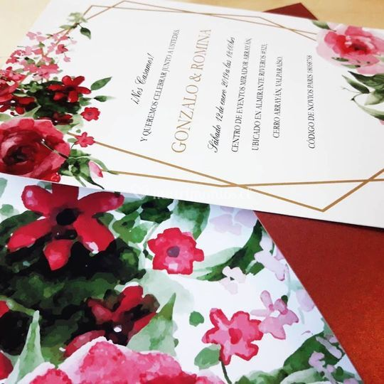 Invitación rosario