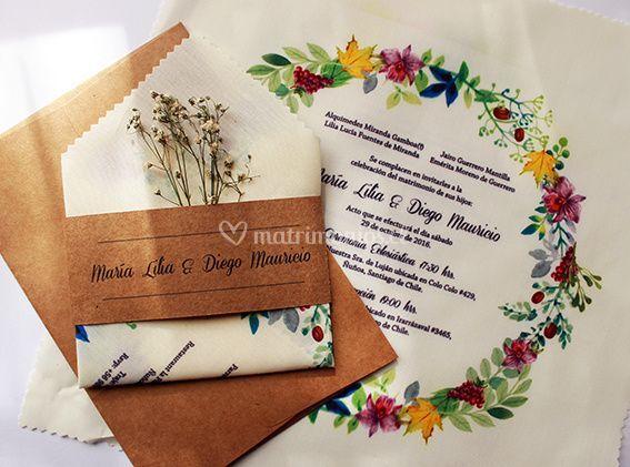 Invitación pañuelo