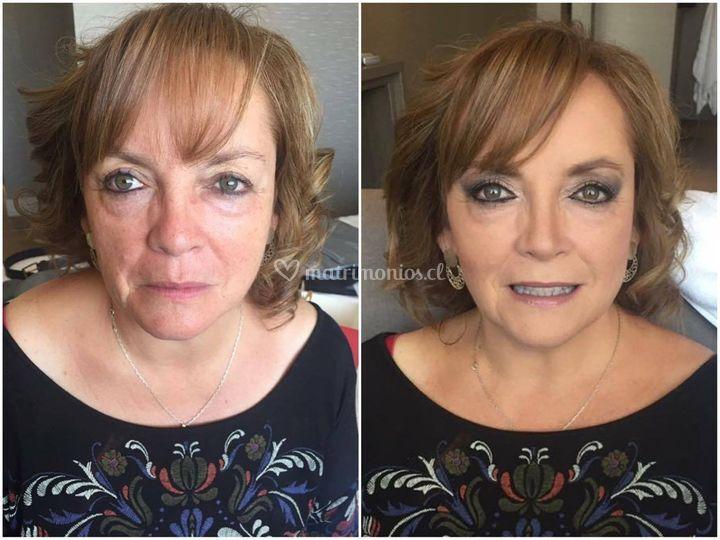 Maquillaje madre novia