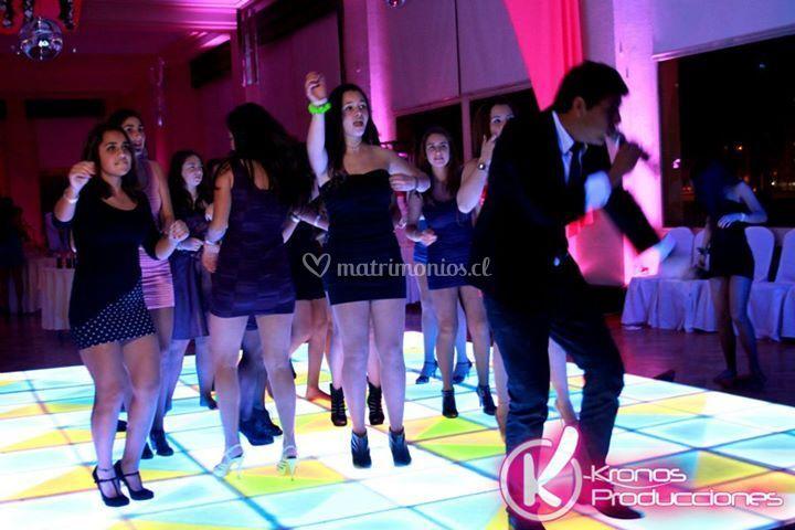 Pista de baile única