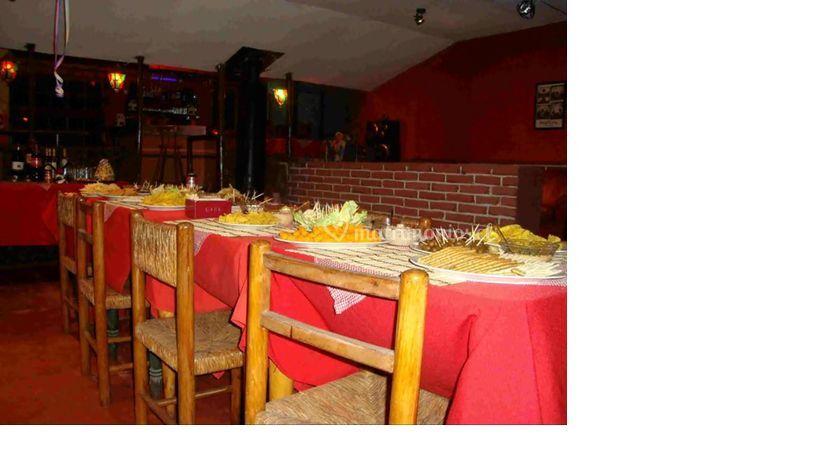 Espacios para el banquete