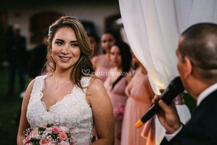 Perfect bride look
