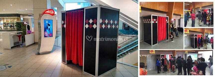 Cabina fotográfica mall plaza