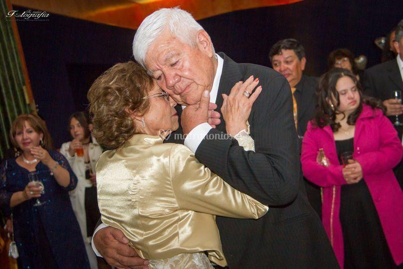 Boda de oro 50 años juntos