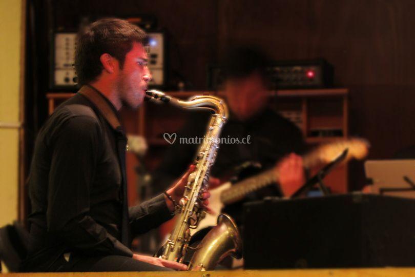 Saxofon y jazz