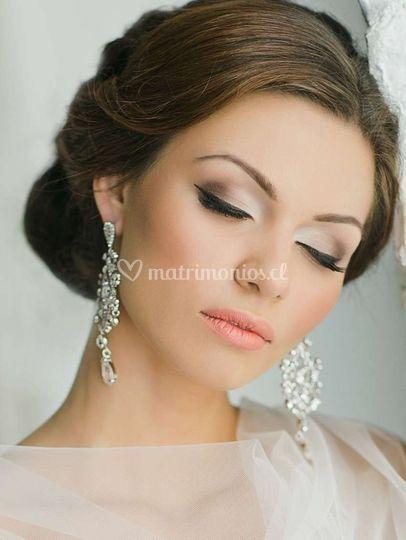 Maquillaje estilo elegante