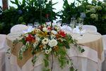 Centro de mesa novios de Florer�a Las Violetas