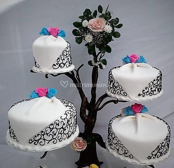 Bonsay 4 tortas