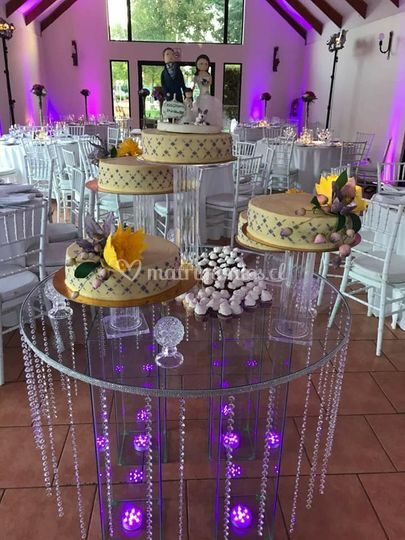 Mesa cristal torta