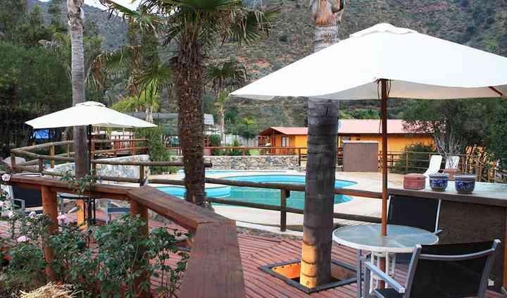 Terraza & piscinas