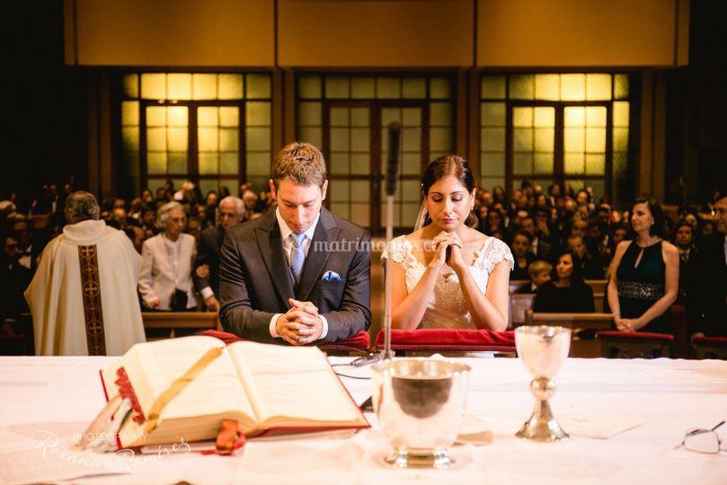 Ceremonia iglesia sta maria
