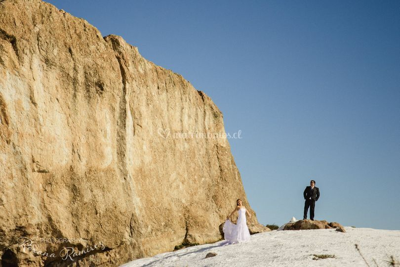Trash the dress nieve