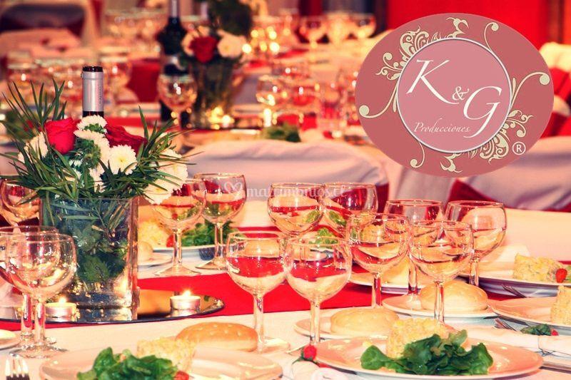Banquete de matrimonios