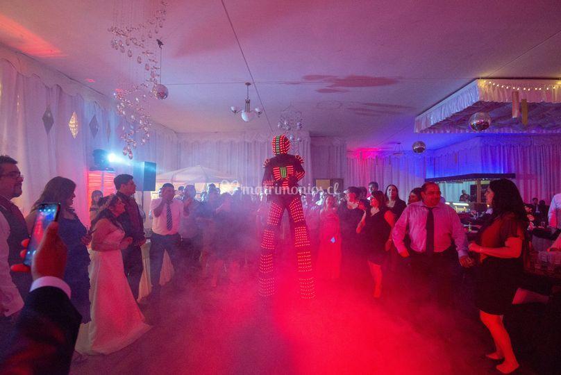 Robot LED Equis