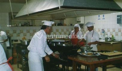 Preparación de platos