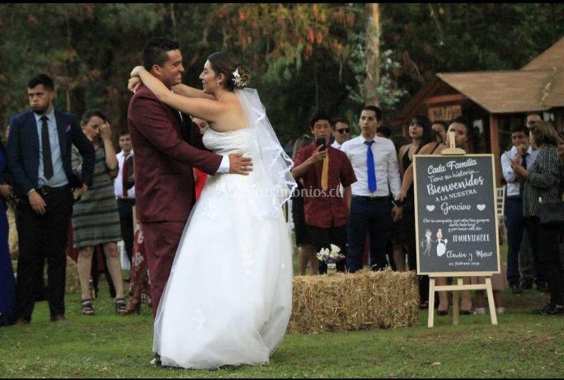 Matrimonio aire libre