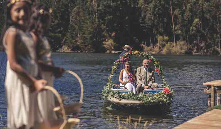 Llegada de la novia original