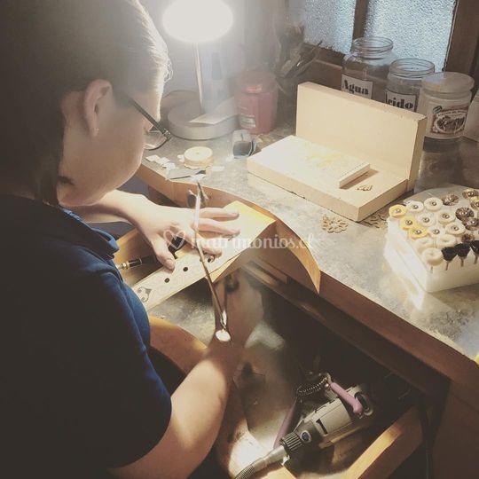 Trabajo artesanal