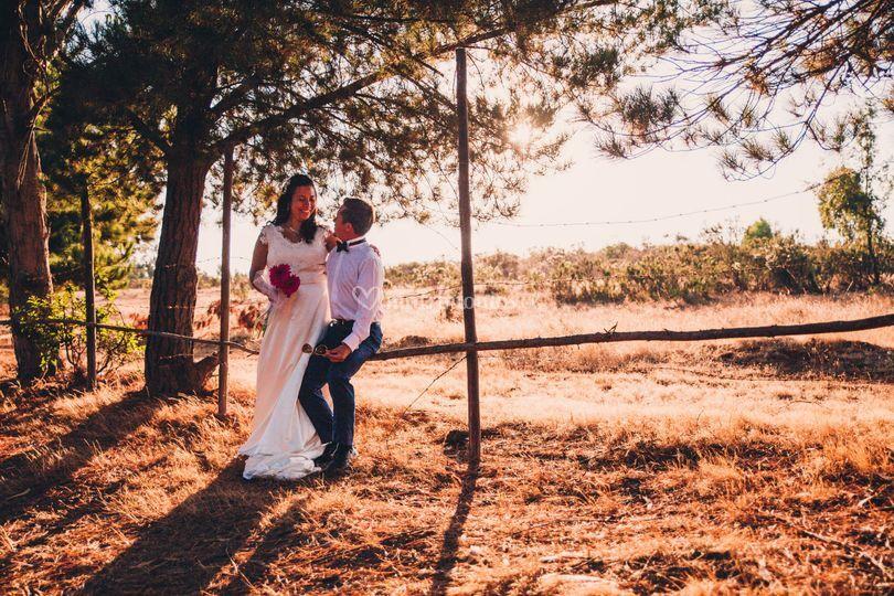 Sesión fotográfica - pre boda