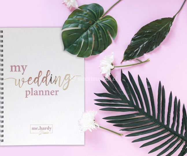 "Cuaderno ""My Wedding Planner"""